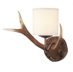 ANT0729S Antler 1 Light Wall Light