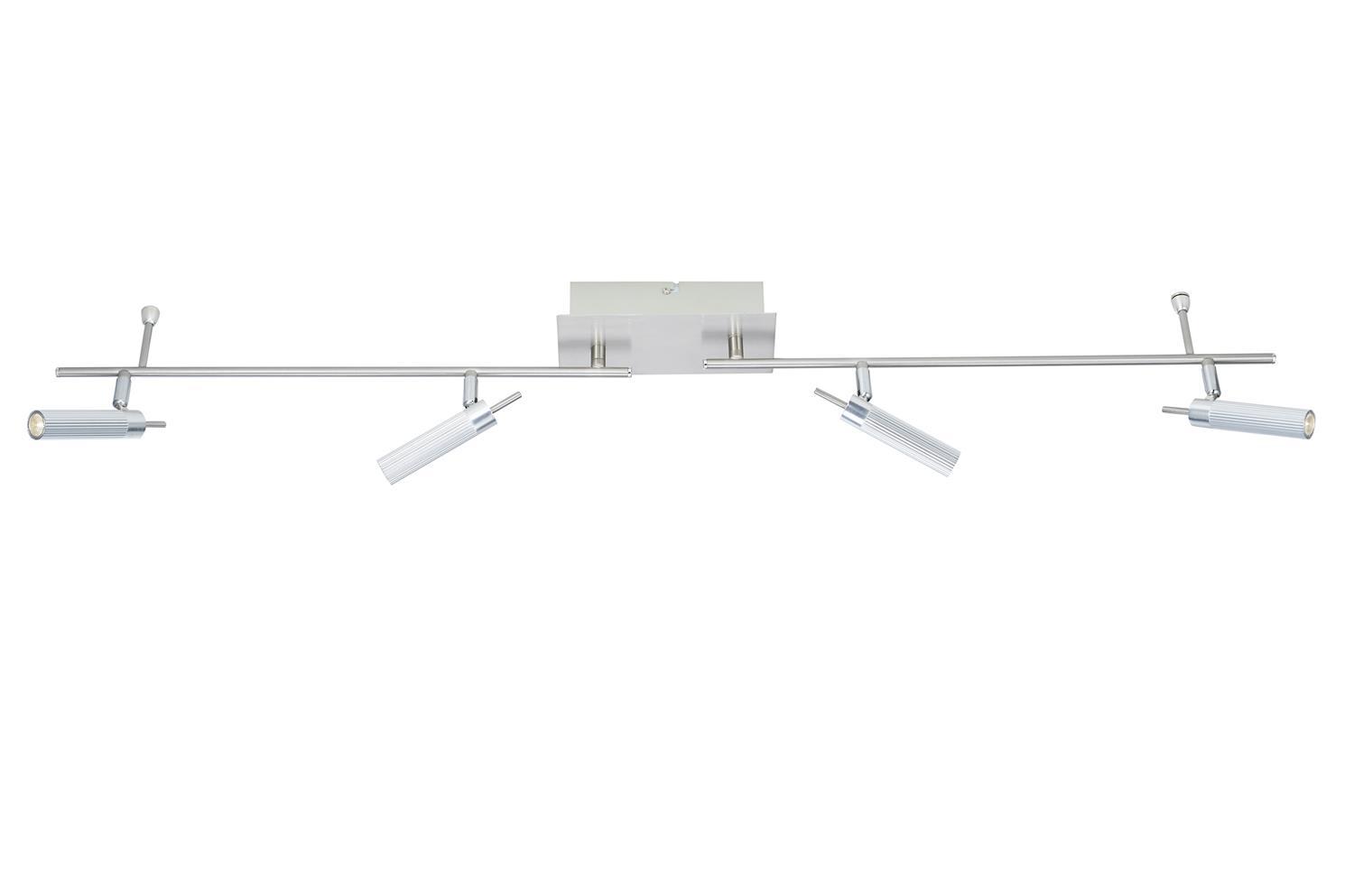 Dar ARN8468 Arno LED 4 light bar spotlight in satin chrome