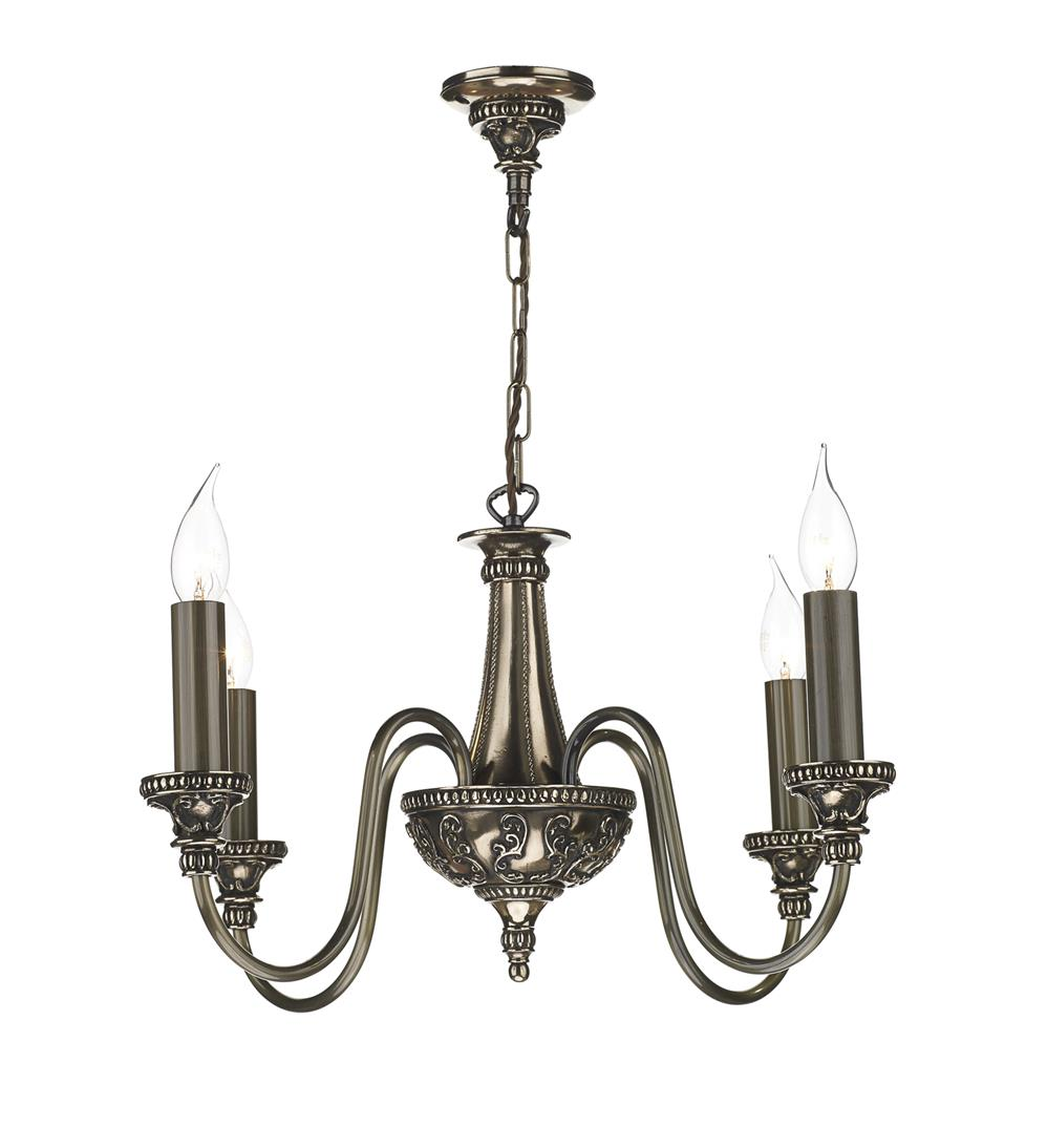 David Hunt Lighting BAI0463 Bailey 4 Light Pendant in Rich Bronze