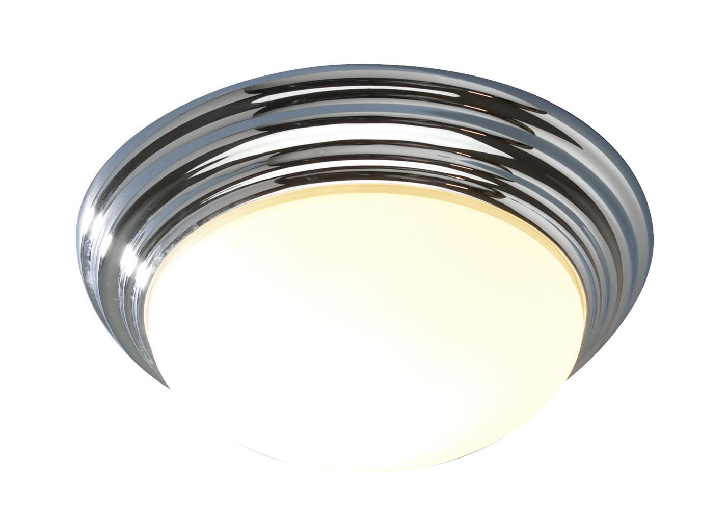 Traditional Bathroom Barclay Flush Fitting Glass Ceiling: BAR5250 Barclay Bathroom Small Flush Fitting In Chrome