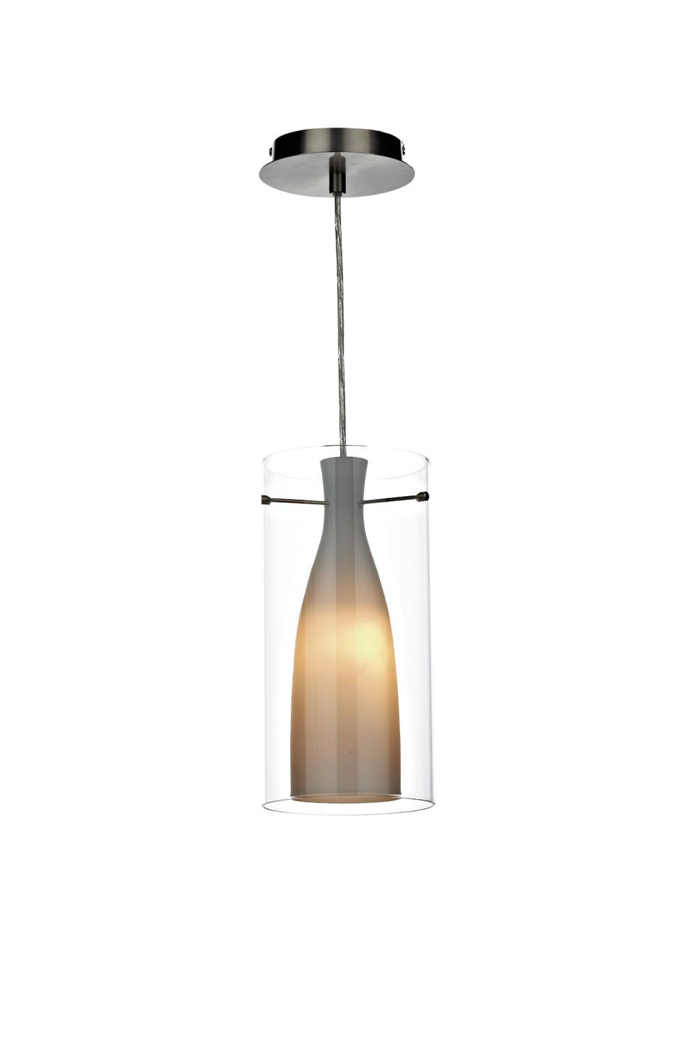 Dar BOD1986 Boda Single Pendant Outer Glass