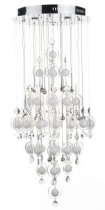 CLO2550 Cloud 21 Light Pendant in Chrome