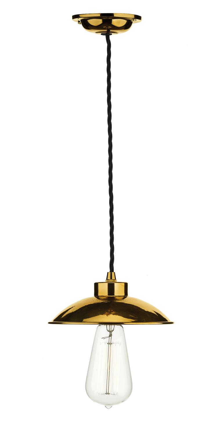 David Hunt Lighting DAL0164 Dallas 1 Light Pendant in Copper