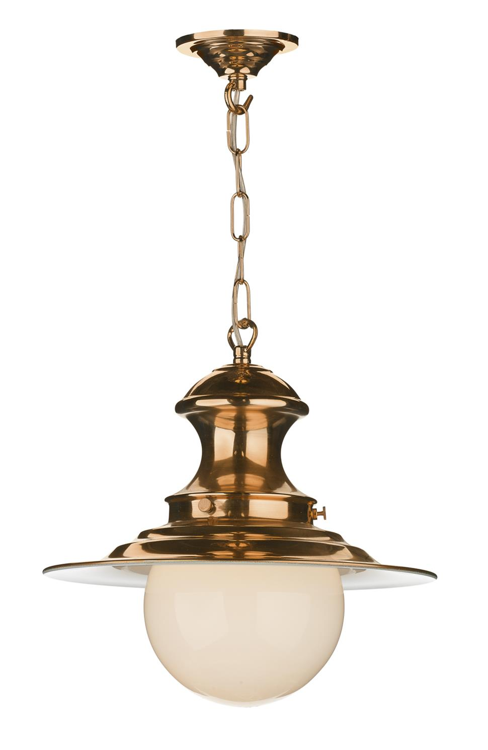 David Hunt Lighting EP0164 Station Small Single Pendant in Copper