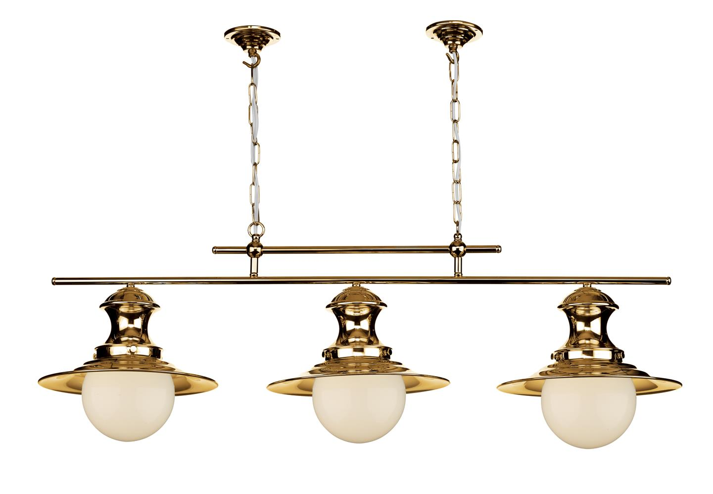 David Hunt Lighting EP0364 Station 3 Light Bar Pendant in Copper