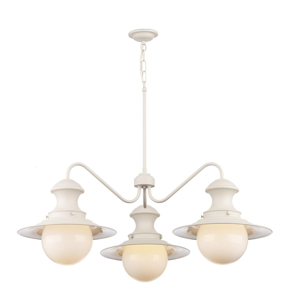 David Hunt Lighting EP5333 Station 3 Light Pendant in Cotswold Cream