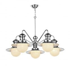 EP5450 Station 5 Light Pendant in Cotswold Cream