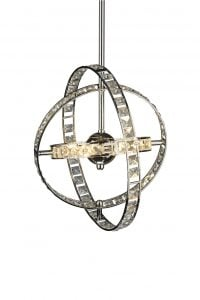 ETE0650 Eternity 6 Light Pendant in Chrome