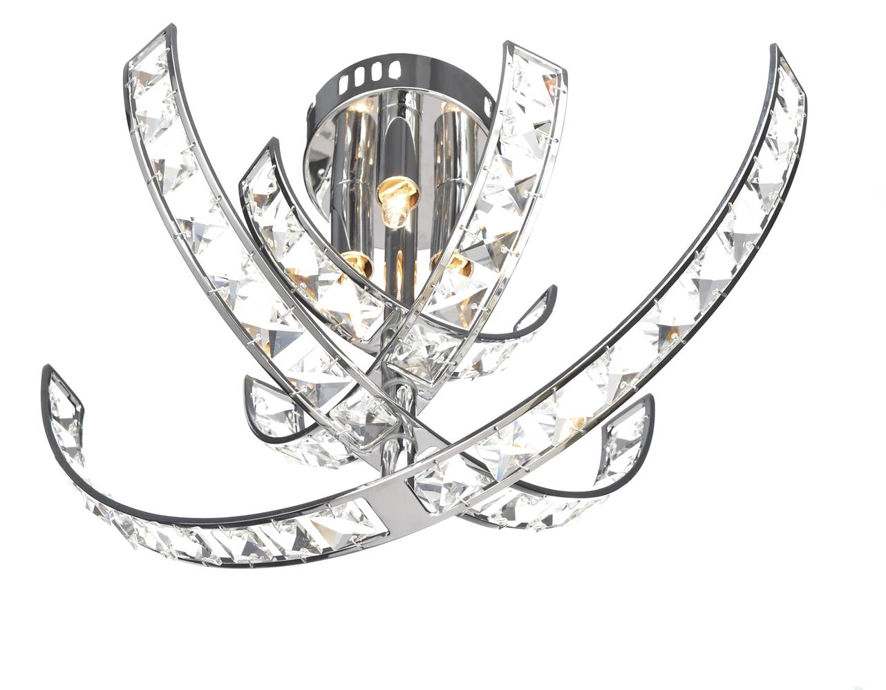 Dar ETE5250 Eternity 3 Light Flush in Chrome