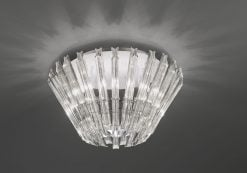 FL2231/6 Imagine 6 light flush, chrome & crystal