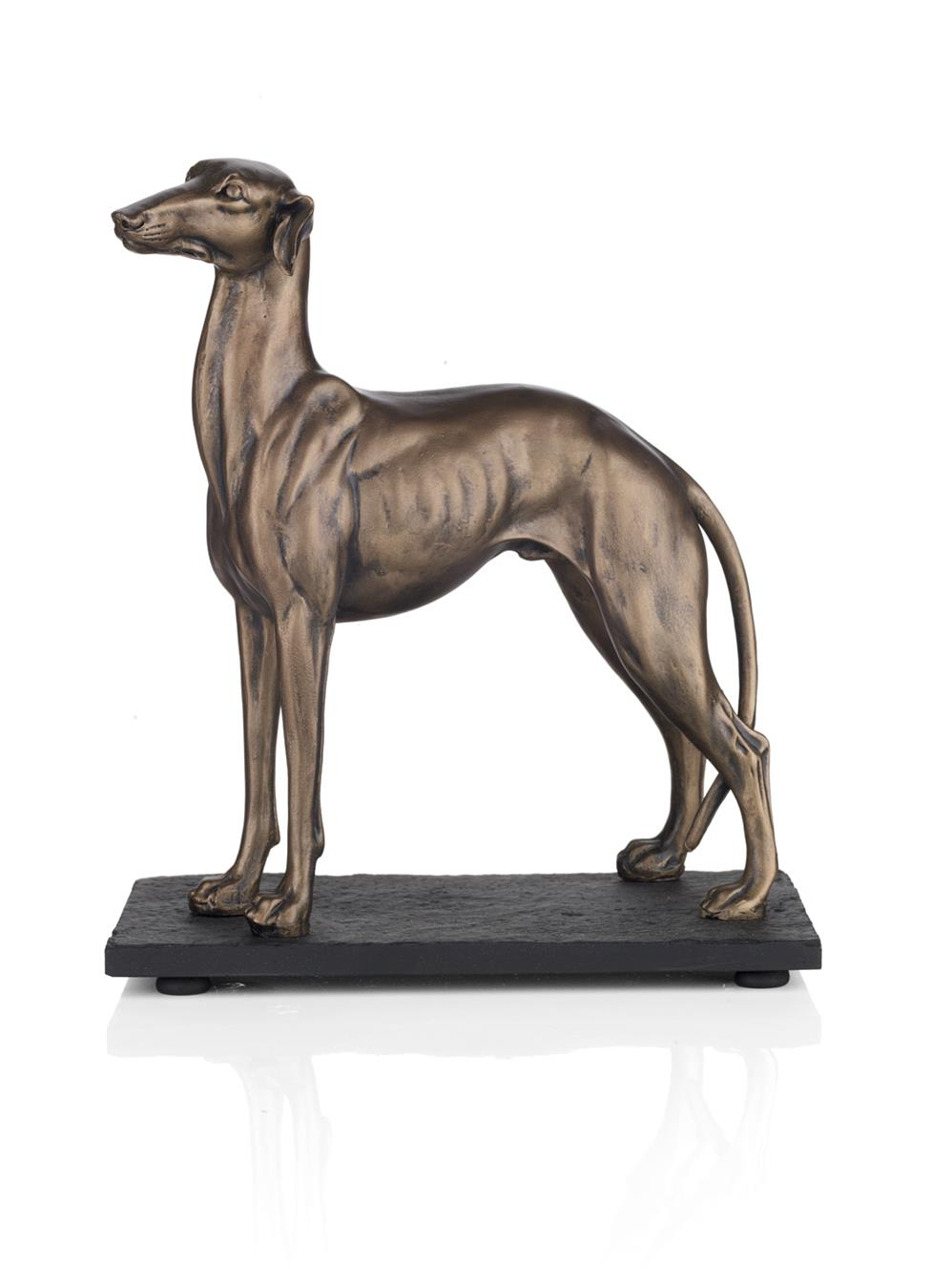 Dar GRE3963- Greyhound Not Specifiedlt ,, Antique Brass