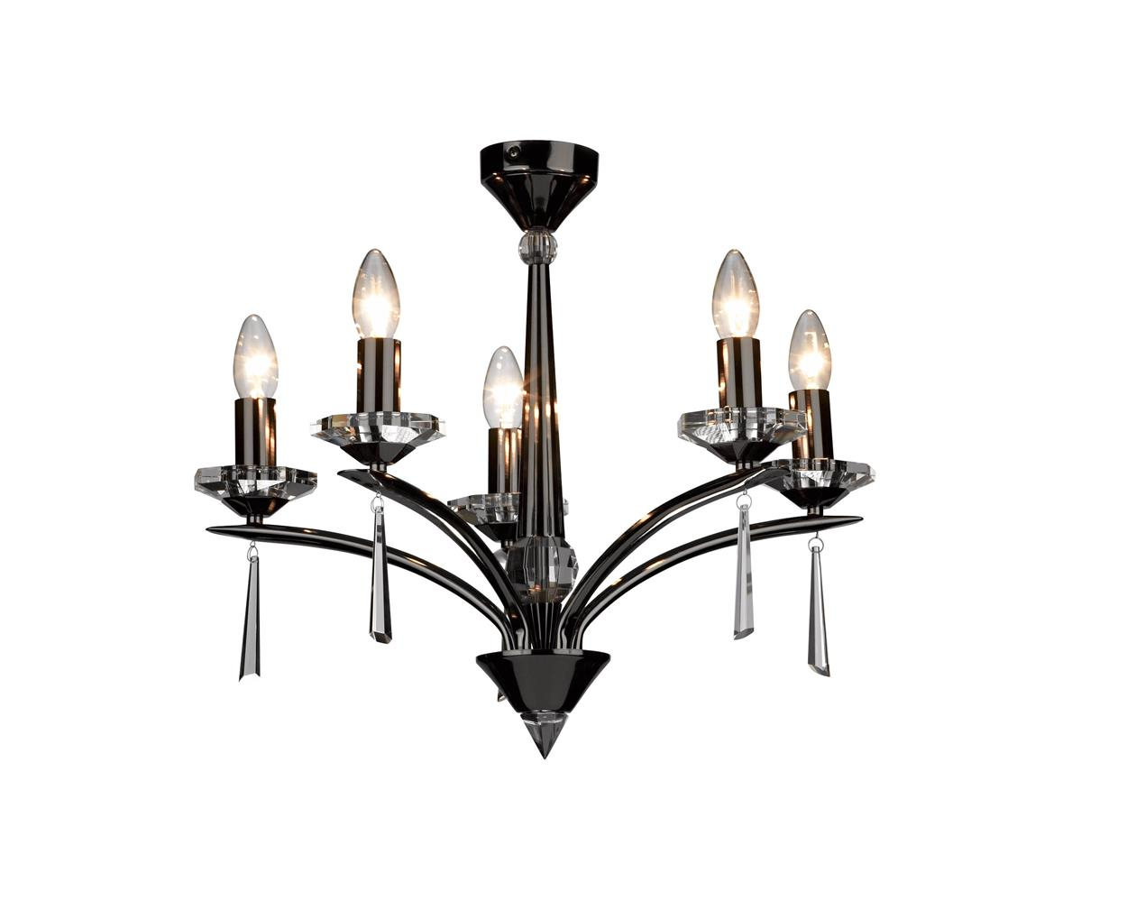 Dar HYP193 Hyperion spare decorative finial polished chrome