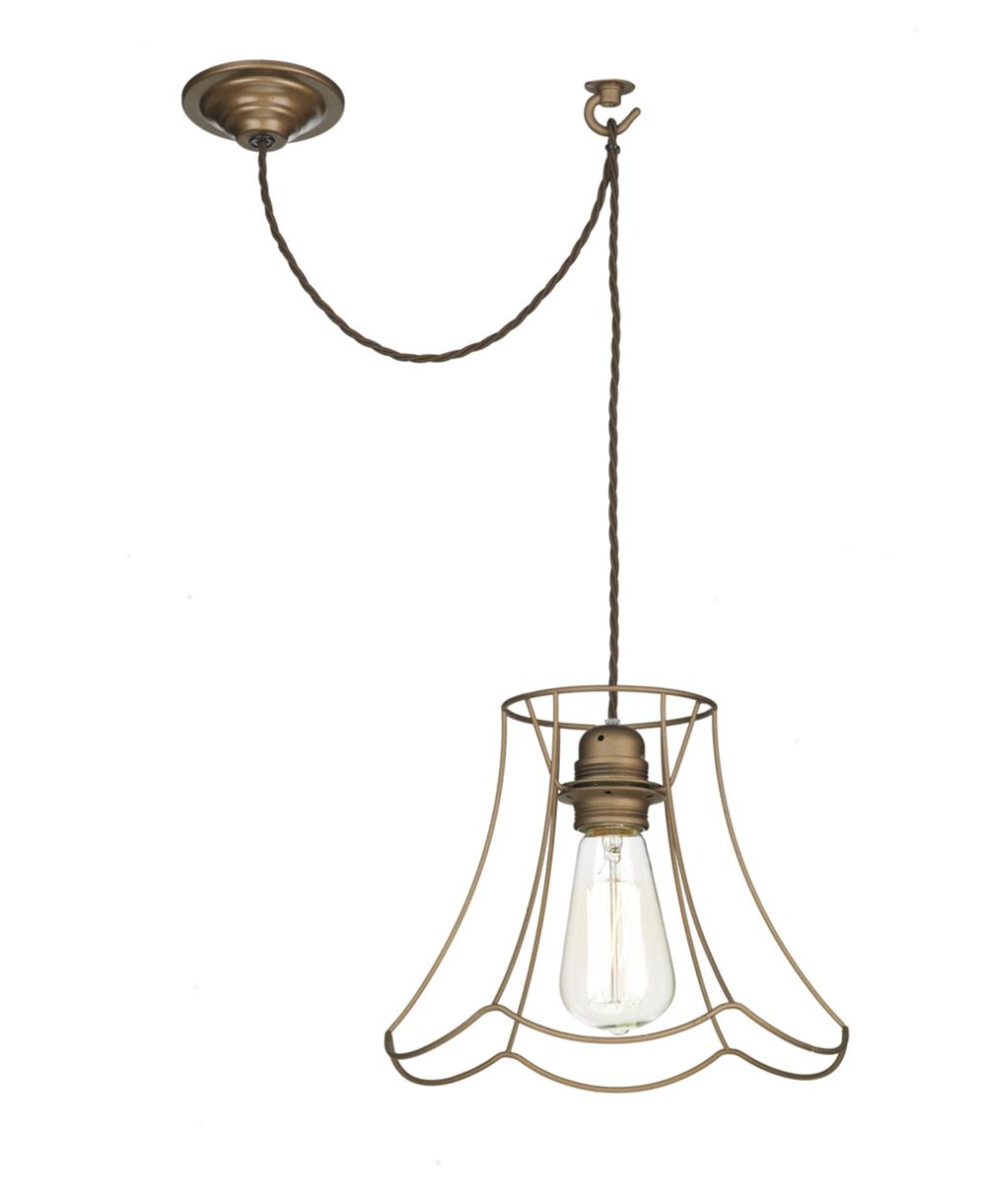 David Hunt Lighting ORE8663 Oregon 1 Light large Pendant in bronze