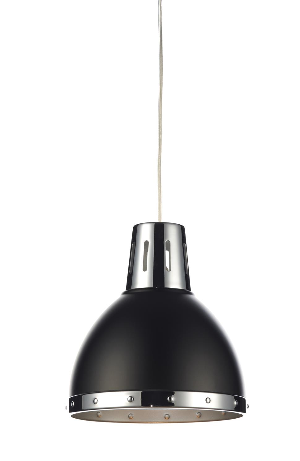 Dar OSA6522 Osaka Easy Fit Pendant Shade in Black