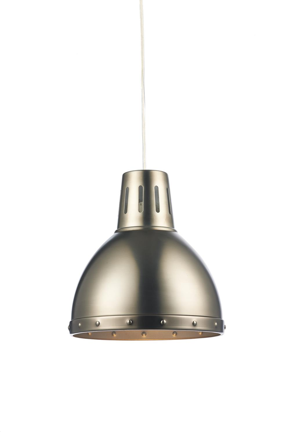 Dar OSA6561 Osaka Easy Fit Pendant Shade in Antique Chrome