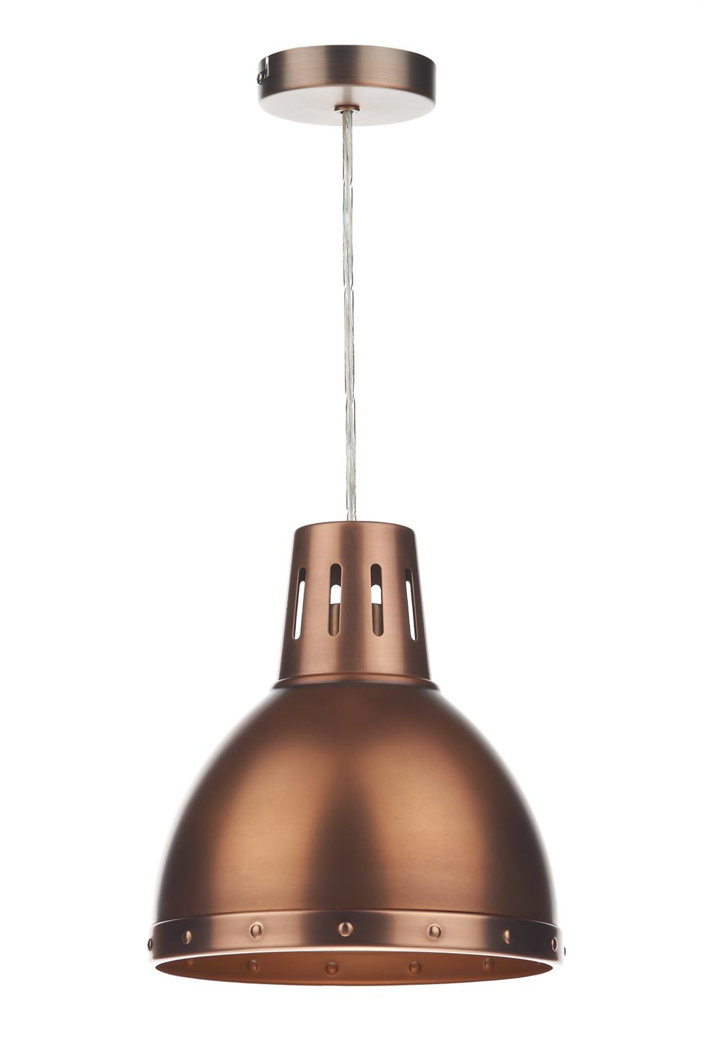 Dar OSA6564 Osaka Easy Fit Pendant Shade in Antique Copper