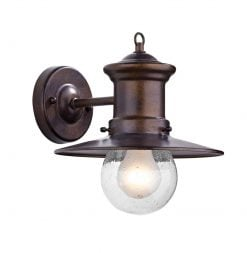 SED1529 Sedgewick Outdoor Wall Light in Bronze
