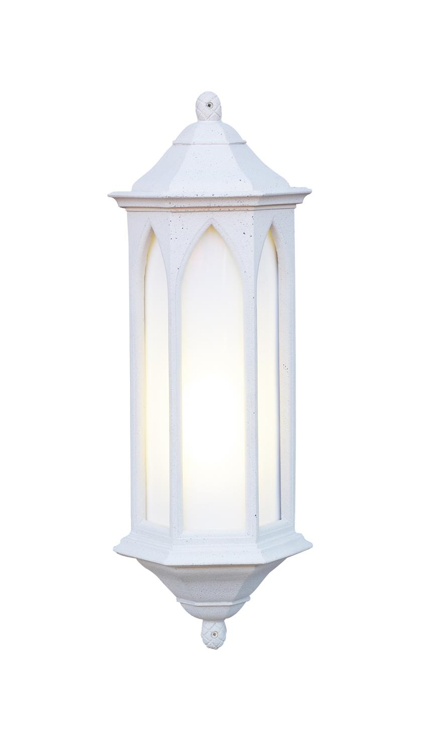 David Hunt Lighting WR34/LE Winchester Outdoor Half Lantern in Stone