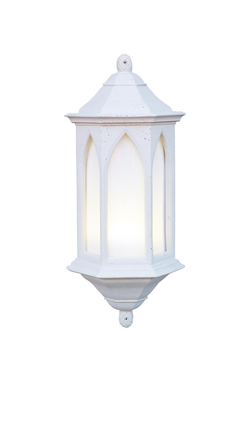 David Hunt Lighting YOR34/LE York utdoor Half Lantern in Stone
