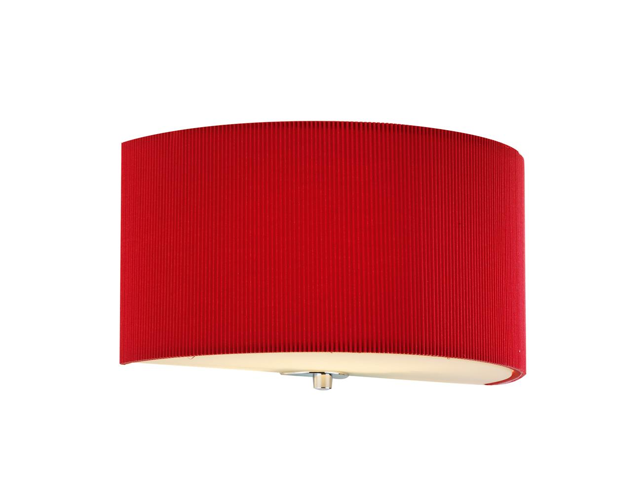 zar0125 zaragoza wall light in red lighting bug swindon. Black Bedroom Furniture Sets. Home Design Ideas