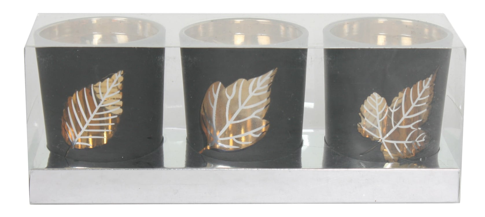 Straits 14929-G Leaf Tealight Holder Gold