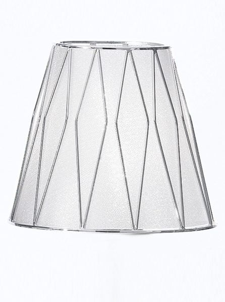 FL2241/2 Artemis chrome double wall light fitting only