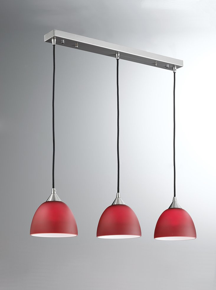 fl2290 3 933 vetross 3 light pendant bar red glass lighting bug swindon. Black Bedroom Furniture Sets. Home Design Ideas