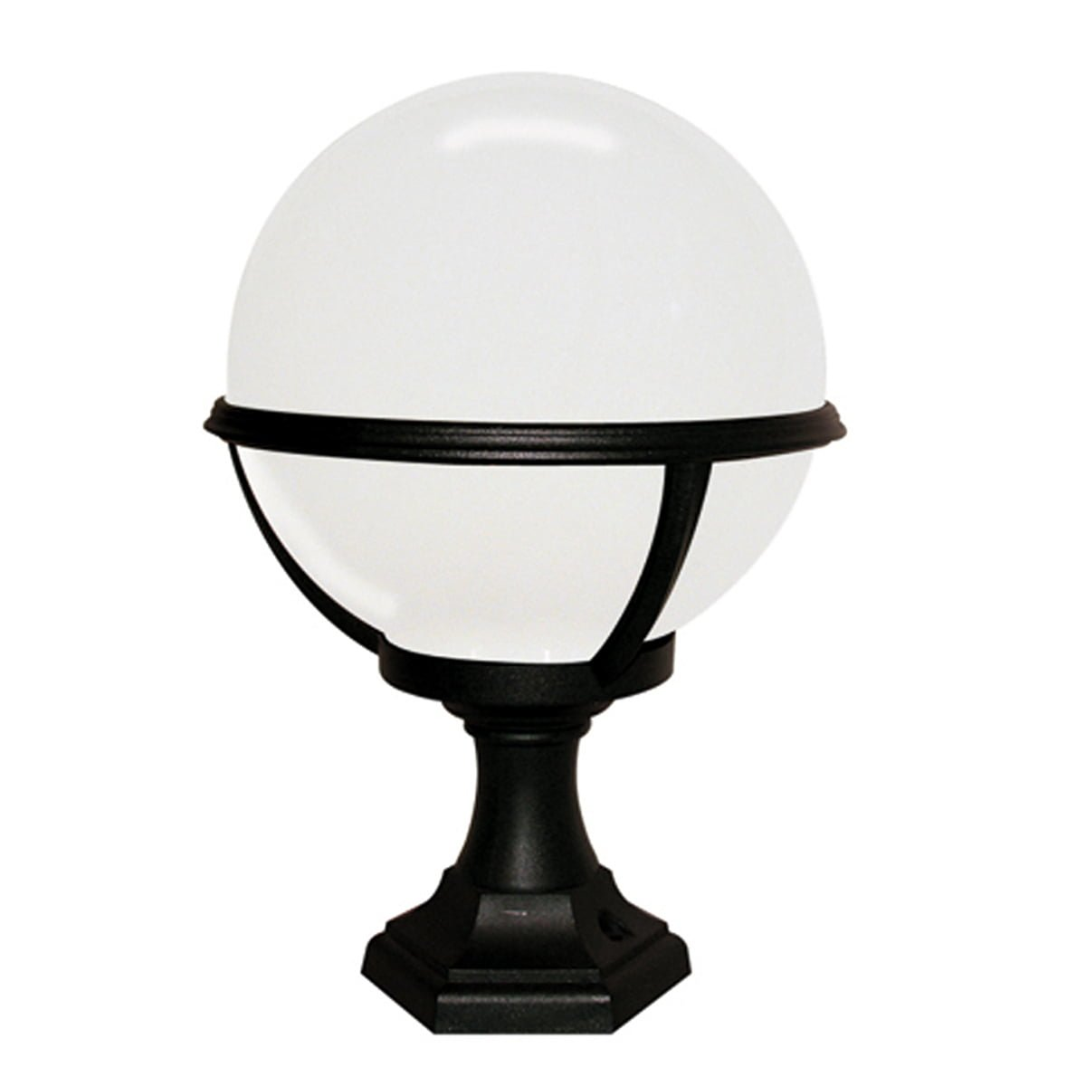 Elstead GLENBEIGH PED/PORCH Glenbeigh Outdoor Pedistal or Porch Light in Black.