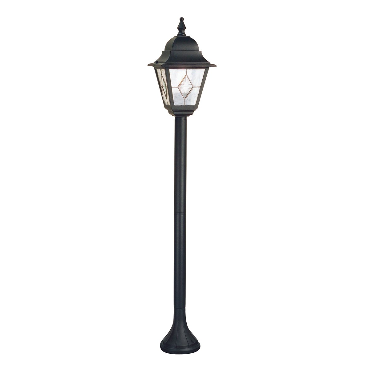 Elstead CC4-S Chicago 1 Light Small Pillar in Rusty Bronze Patina