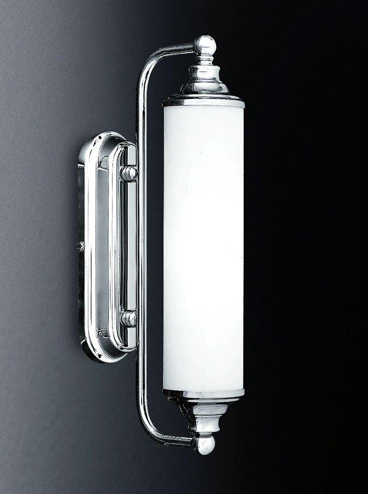 Franklite WB157/363 Bathrrom mirror light, chrome and opal glass