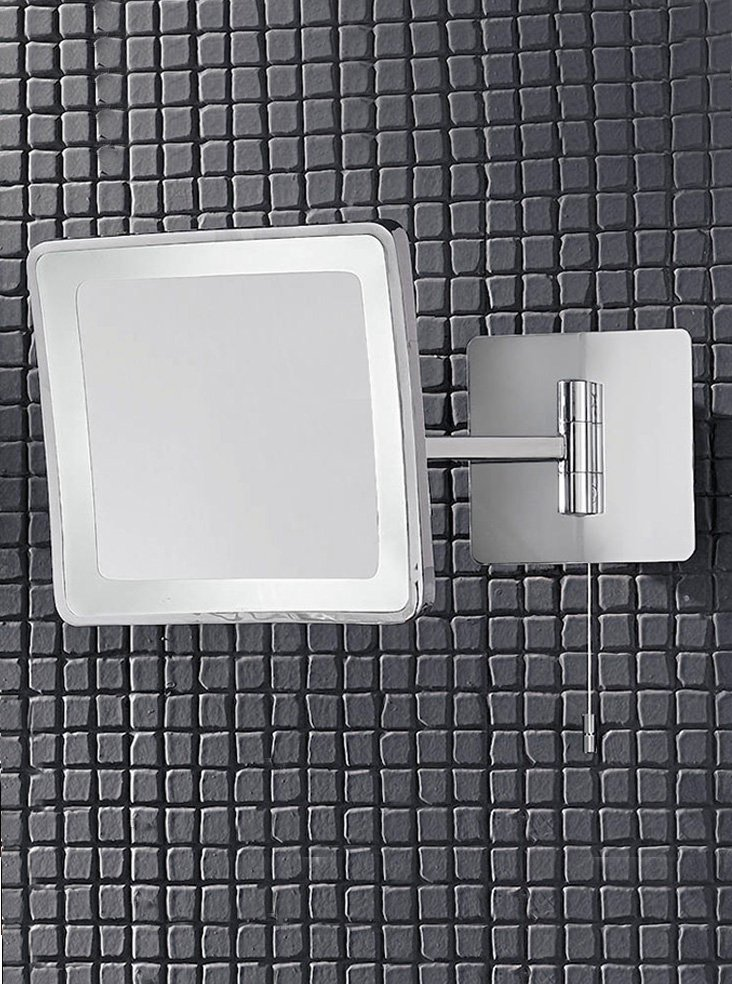 Franklite WB951EL Low Energy 3x magnification illuminated bathroom mirror