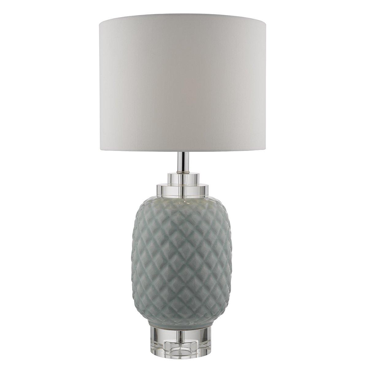 erv4223 ervin table lamp base only in pale blue. Black Bedroom Furniture Sets. Home Design Ideas