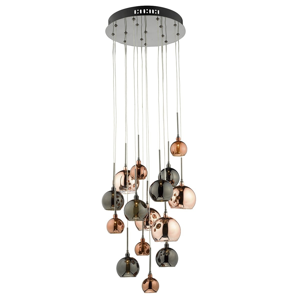 Dar AUR191 Aurelia Spare Medium Bronze Glass Shade for AUR1564