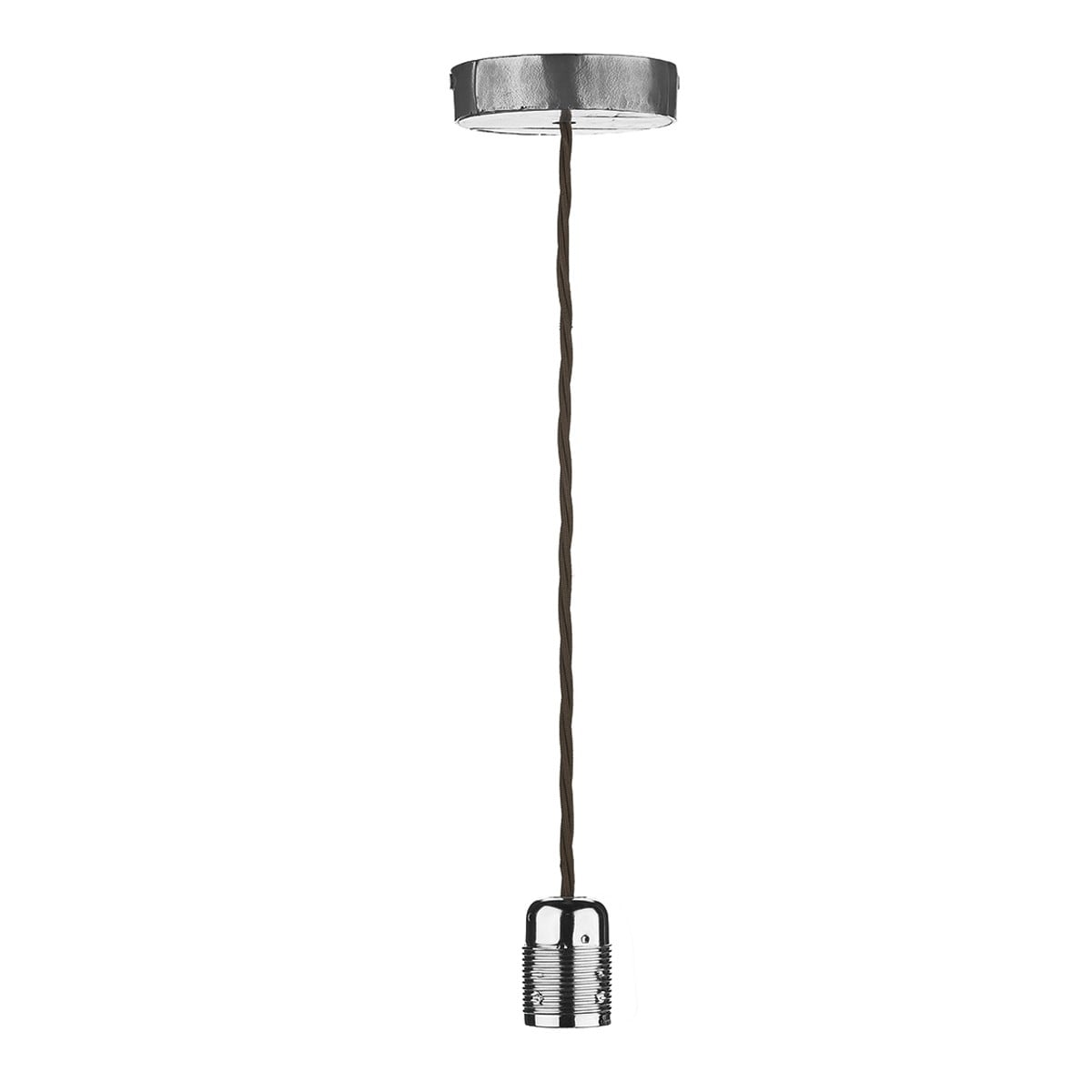 David Hunt Lighting HUC0139 Huckleberry 1 Light Pendant in Lead finish (Fitting only)