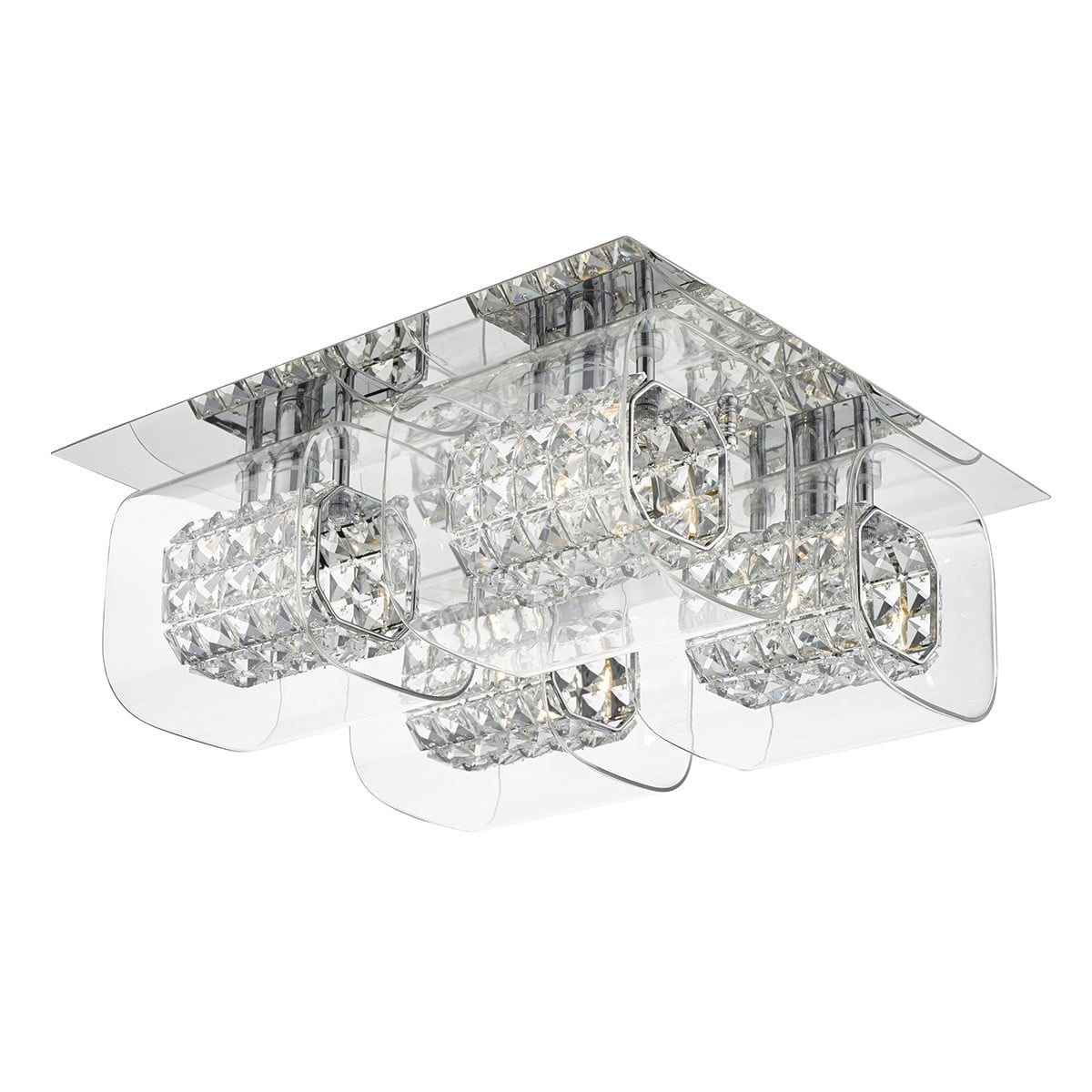 Dar KAB19 Kabuki Spare Outer Glass Shade for KAB5050