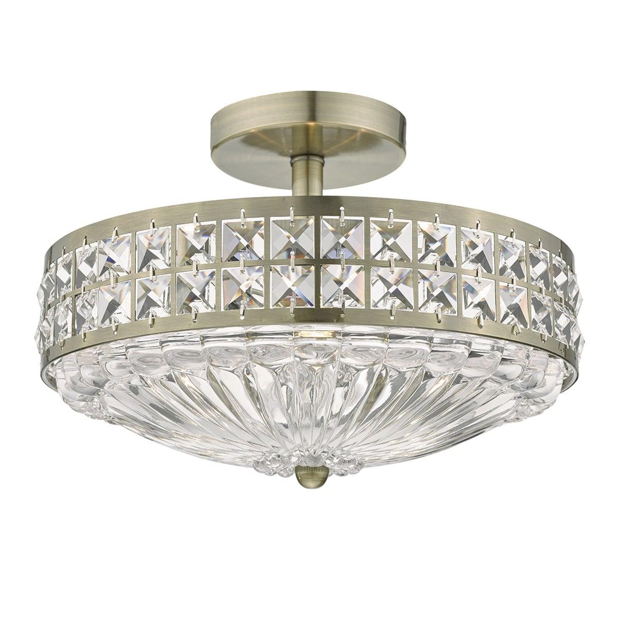 Dar OLO191 Olona Spare Glass Diffuser for OLO5350 & OLO5375