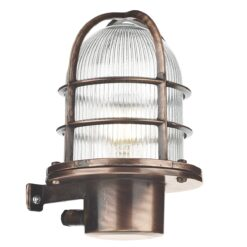 PIE1664 Pier 1 Light Wall Light in Antique Copper