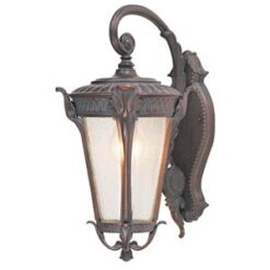 4283BR Canada weathered brown IP44 outdoor wall light
