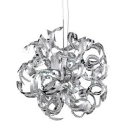 6299-9CC Sparkles Chrome 9 Light Pendant