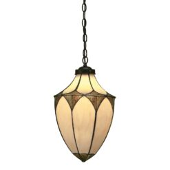 Brooklyn 63974 Tiffany Medium Acorn 1 Light Pendant