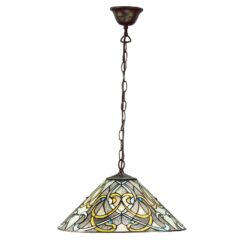 Dauphine 64054 Tiffany Medium 1 Light Pendant