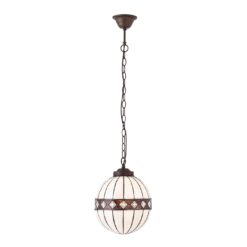 Fargo 67044 Tiffany Small Globe 1 Light Pendant