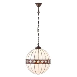Fargo 67045 Tiffany Medium Globe 1 Light Pendant