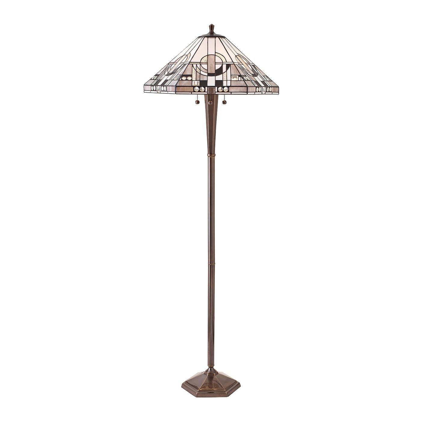 70662 tiffany down 3 light floor lamp lighting bug swindon. Black Bedroom Furniture Sets. Home Design Ideas