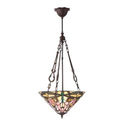 Ashton 70740 Tiffany Medium Inverted 3 Light Pendant