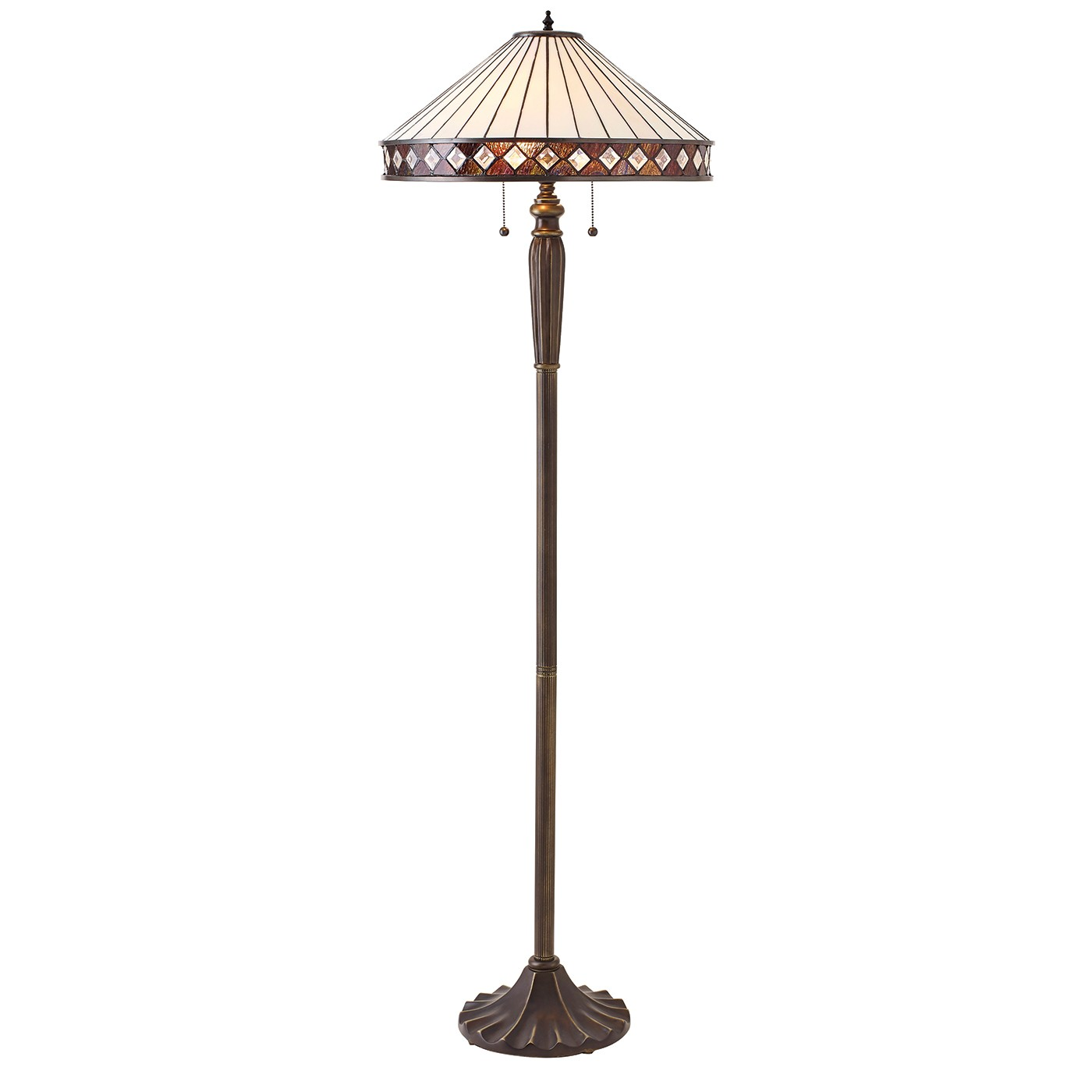 fargo 70936 tiffany down 2 light floor lamp lighting bug With tiffany fargo floor lamp