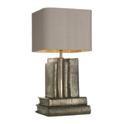 AUT4263 Author Table Lamp in Bronze Base Only
