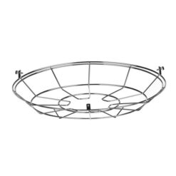 David Hunt Lighting REC9950 Reclamation Cage Frame in Chrome