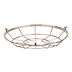 David Hunt Lighting REC9964 Reclamation Cage Frame in Copper