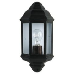 Searchlight 280BK- Outdoor 1lt Outdoor, Glass